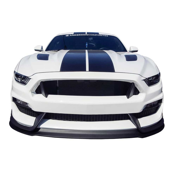 15 16 Mustang Gt 350 Style Fiberglass Front Bumper With Front Lip