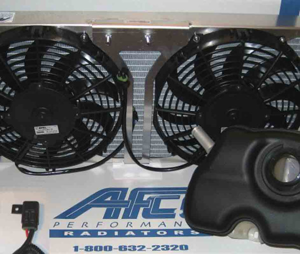 Afco Dual Fan Heat Exchanger & Tank Upgrade for 07-12 GT500