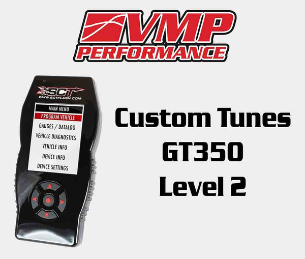 Shelby GT350 VMP Custom E-Mail Tune Level 2