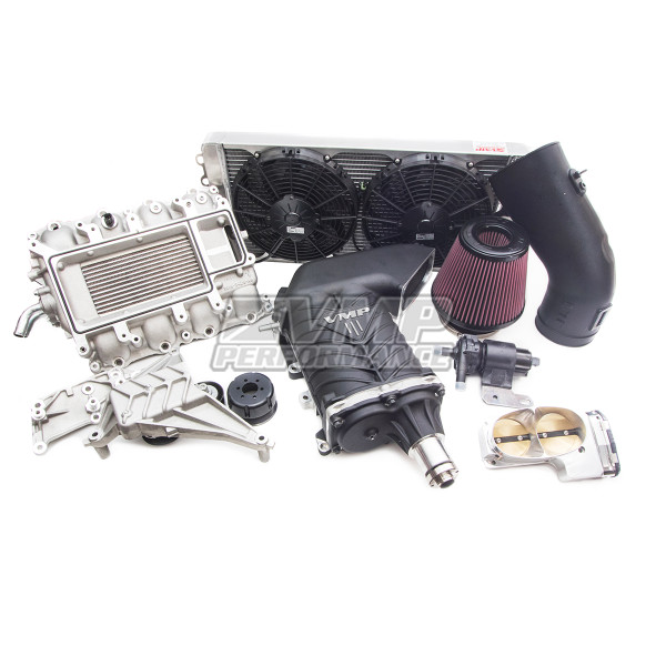 Mustang Supercharger Kit Gen3 for 2015-2017 - Kit Photo